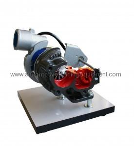 Turbopunjač s odvodnim ventilom (na bazi)